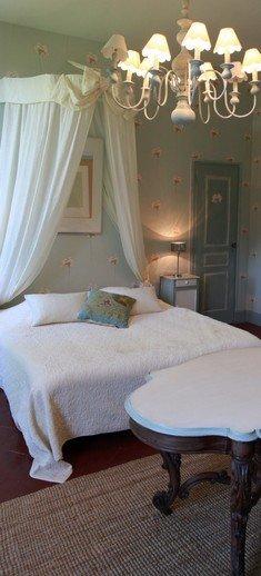 Chambre des Demoiselles - Chambre d'hôtes romantique