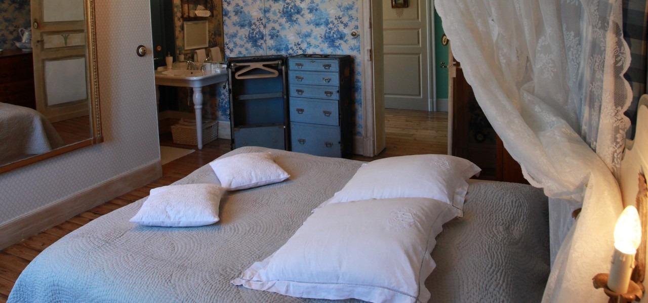 Chambre Bleue - Détail