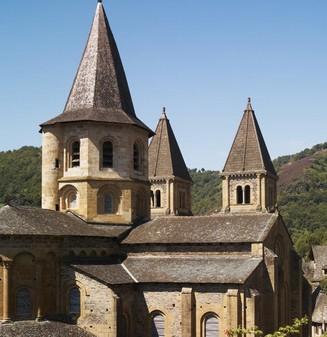 Abbaye de Conques, grand site Midi Pyrénées