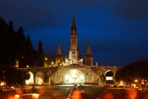 Lourdes , grand site Midi Pyrénées