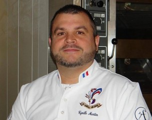Cyrille Martin , chef boulanger