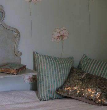 Literie, chambre des Demoiselles, Chambre d'hôtes à Marssac su Tarn