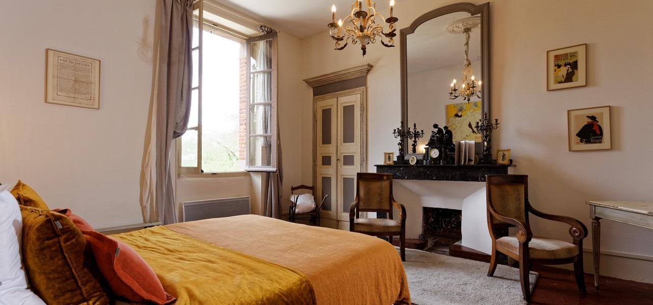 chambre d hotes au chateau dans le sud occitanie