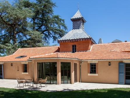 Domaine du Buc – Gite du pigeonnier – coté terrasse-7