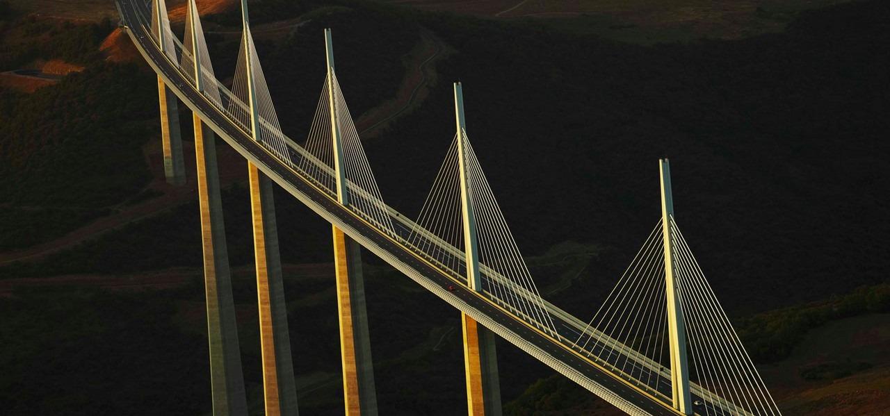 Viaduc de Millau, grand site Midi Pyrénées