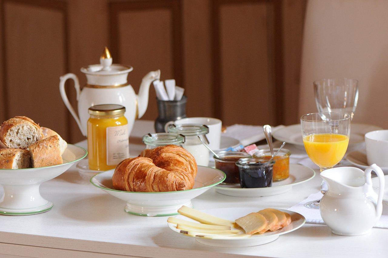 Gîte de charme avec petit déjeuner gastronomique