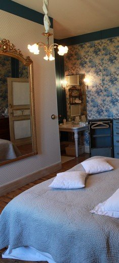 chambre bleue - Chambre d'hôtes de charme albi tarn