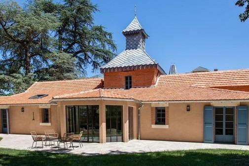Domaine du Buc – Gite du pigeonnier – coté terrasse6