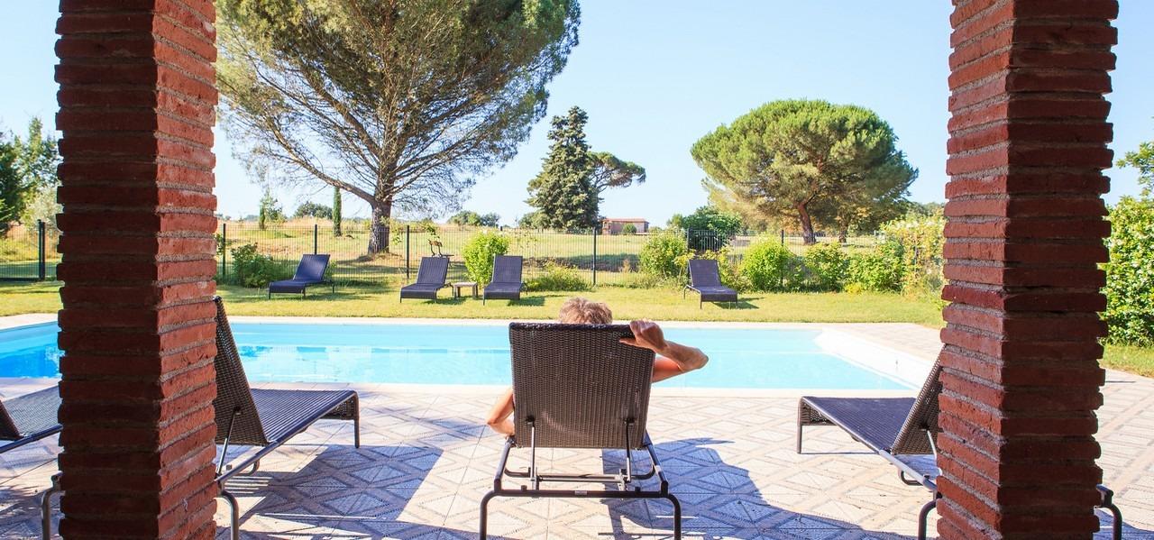 chambres d'hôtes avec piscine dans le sud ouest Domaine du Buc