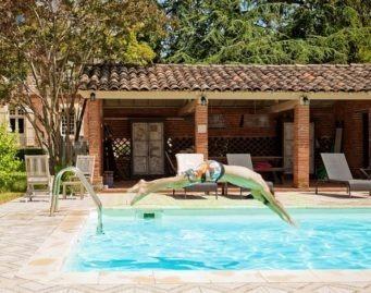 piscine en chambres d hotes de charme sud de france