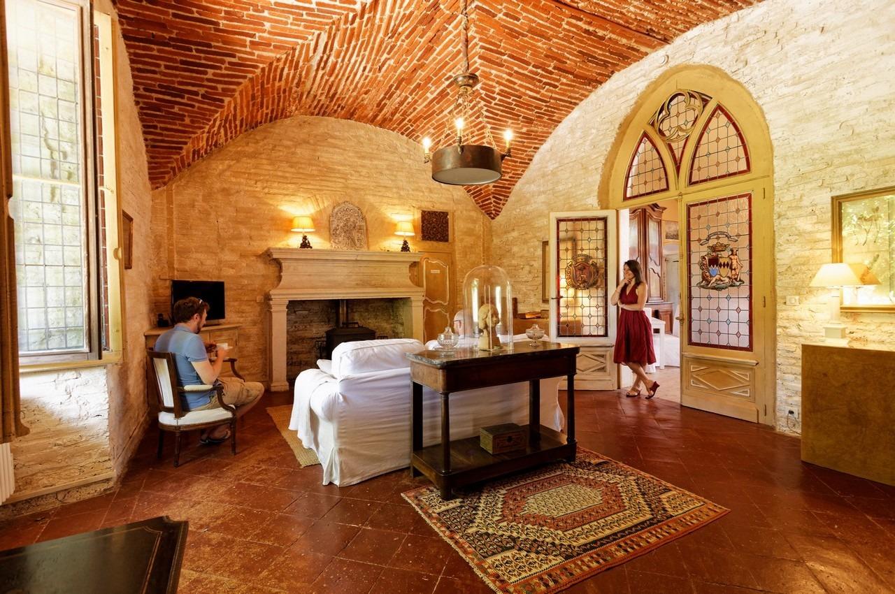 salon chambre d hotes de charme aux portes d albi dans le tarn