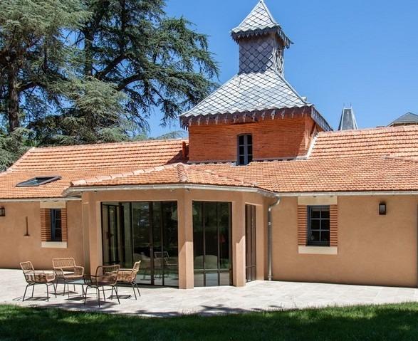 Domaine du Buc – Gite du pigeonnier – coté terrasse-1