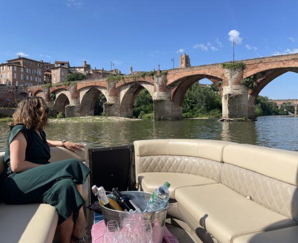 Cosy boat sur le Tarn avec Gaillac Visit